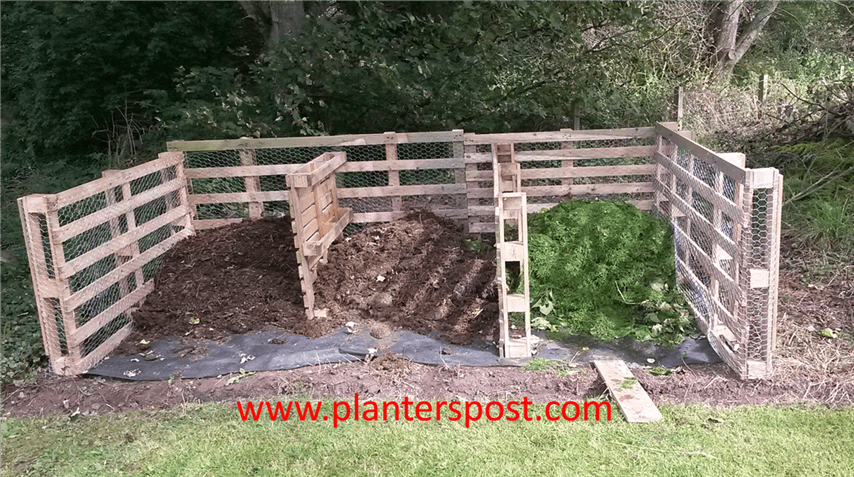 Pallet Composting Bin Home Composting The Planters